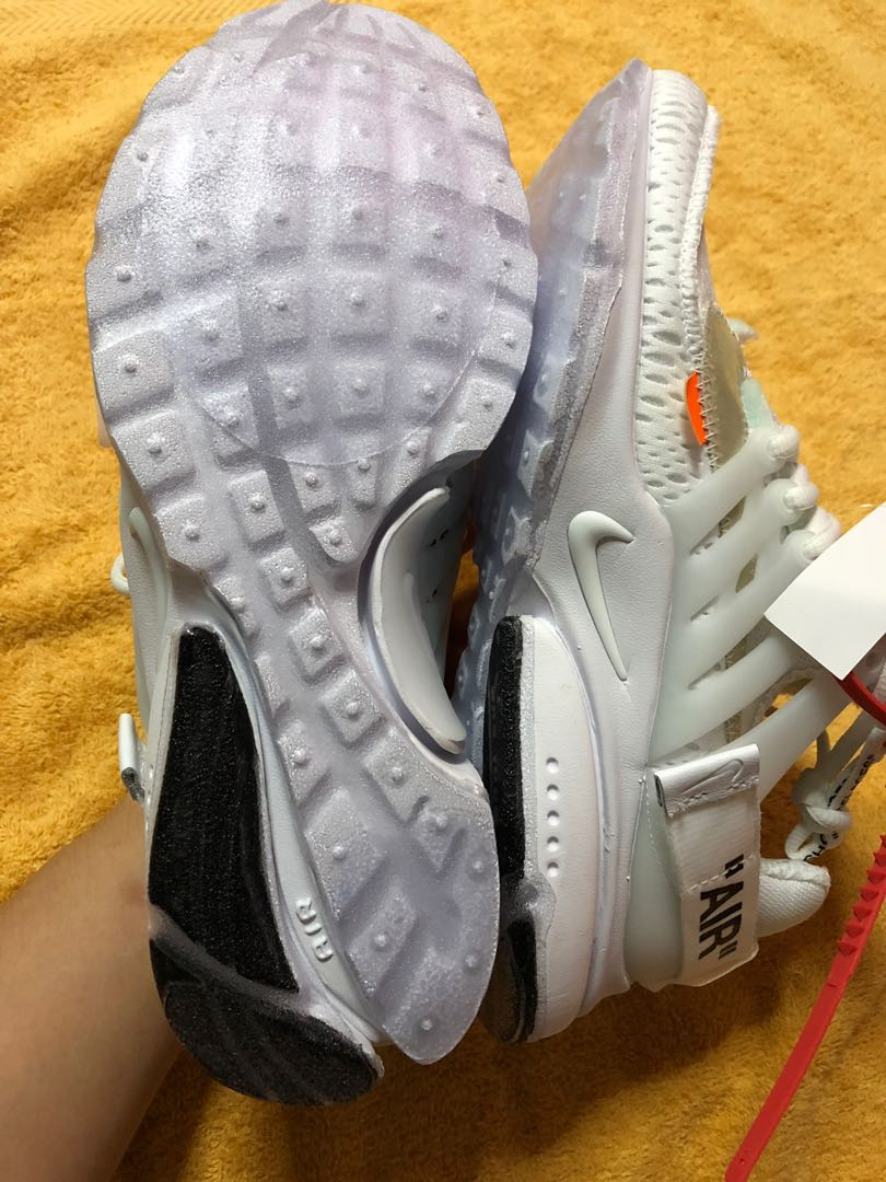 6701e5127999 FULL TRACTION SOLE SHIELD INSTALLED FOR NIKE AIR PRESTO X OW