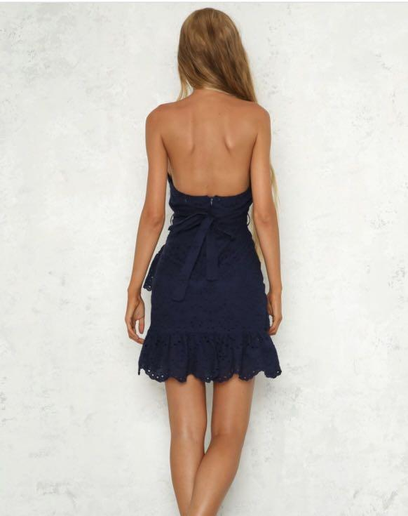 Hello Molly Navy Dress