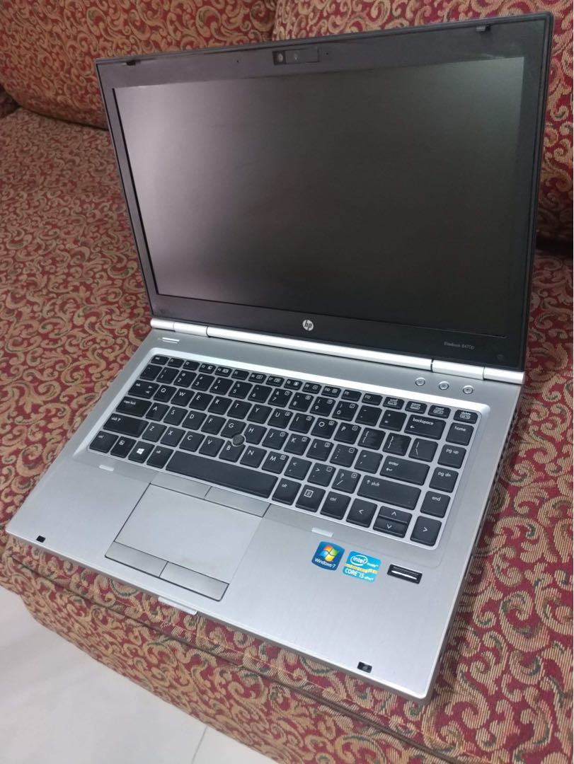 HP Elitebook 8470p Corei5 3rdGen 500gb 4gb Laptop
