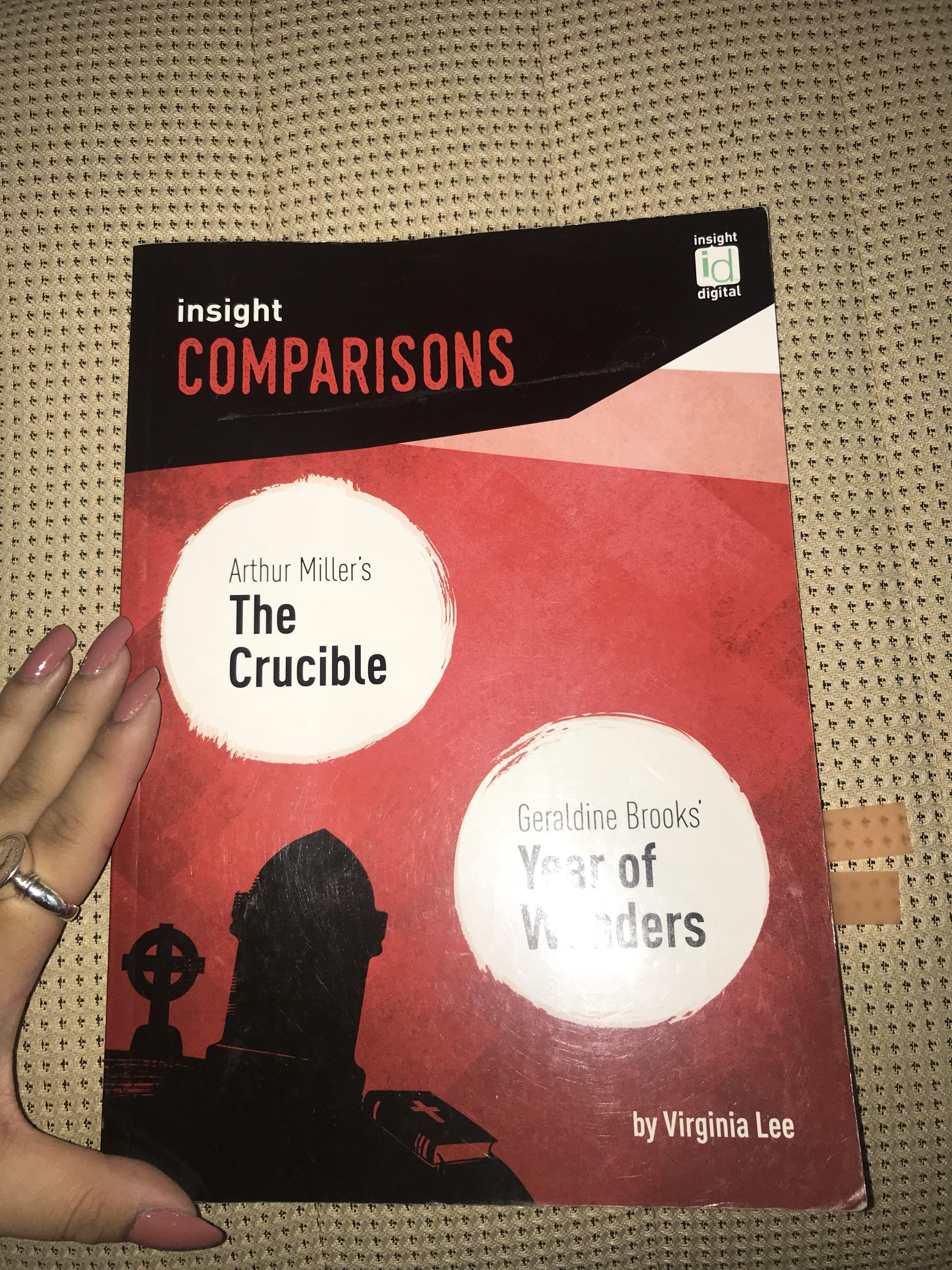 Insight comparison The Crucible and Year of Wonders