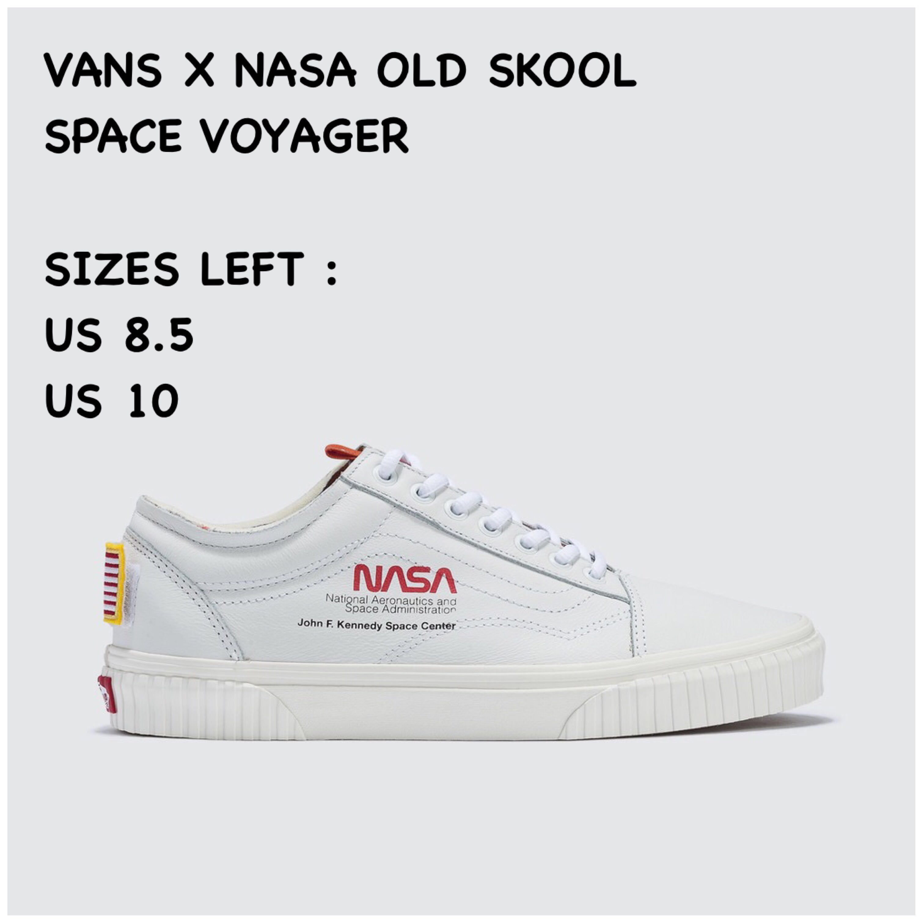 ab69a47a7fcff INSTOCK  Vans X Nasa Space Voyager Old Skool