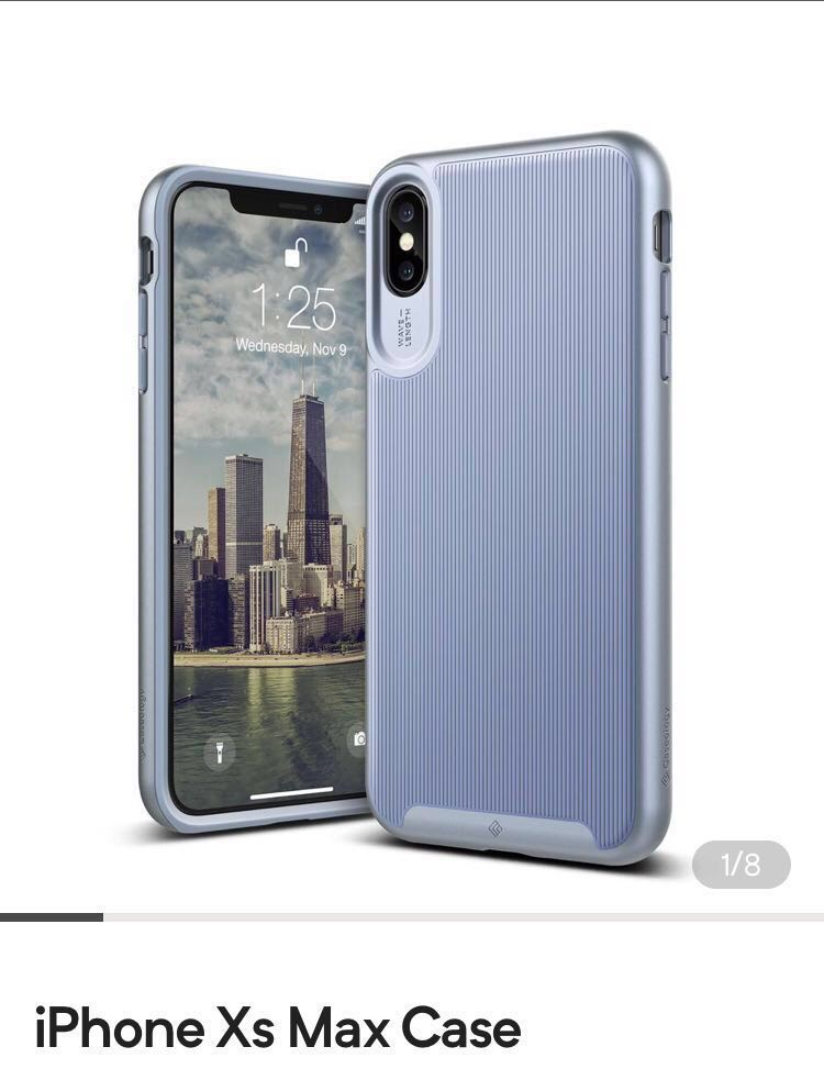 competitive price 1acae f4ffb iPhone XS Max Case (light blue colour)