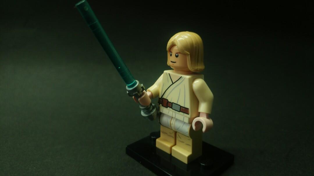 Lego Star Wars Luke Skywalker Toys Games Bricks Figurines On