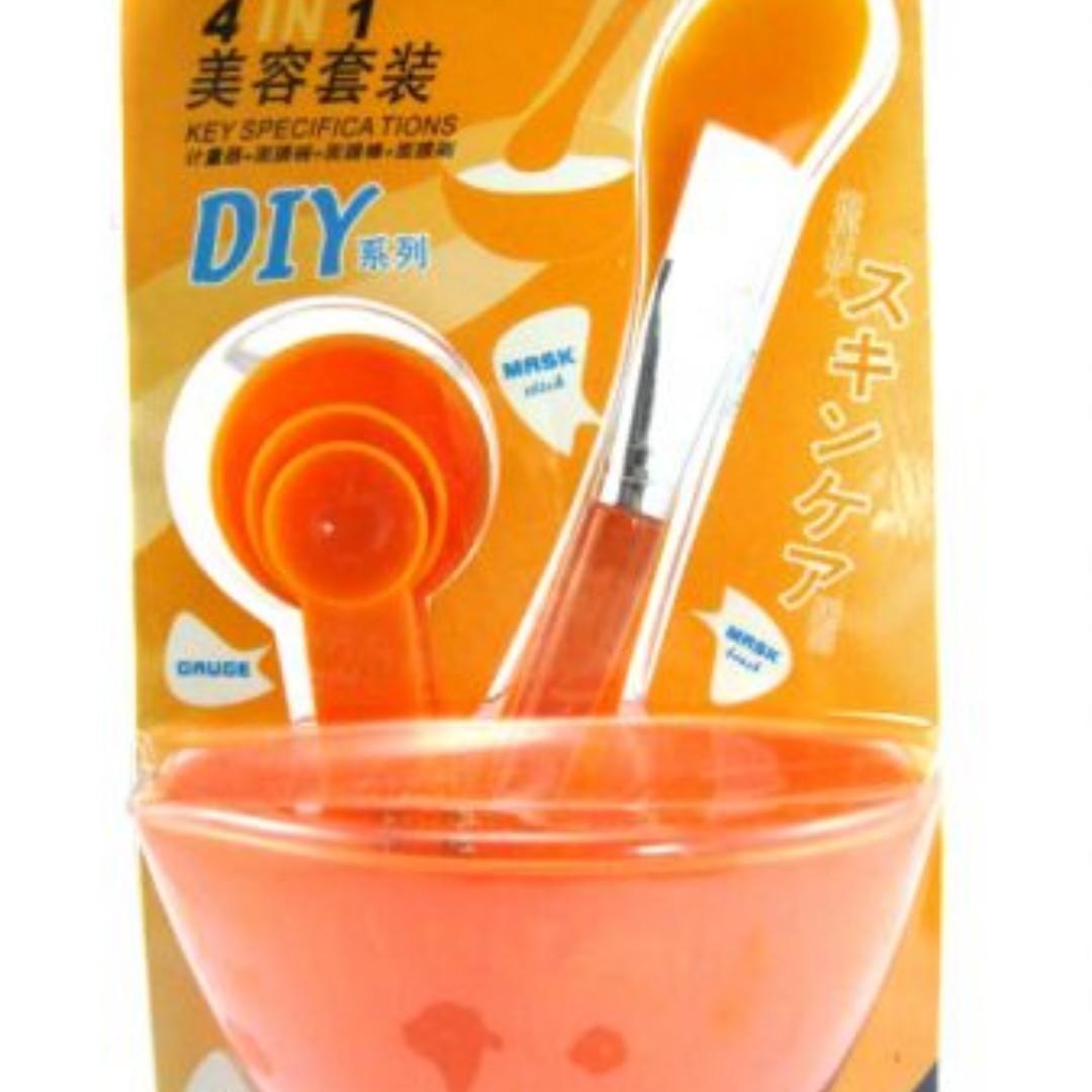 Mangkok Masker Kosmetik Mask Bowl ( Korean DIY set mangkung masker, Health & Beauty, Makeup on Carousell