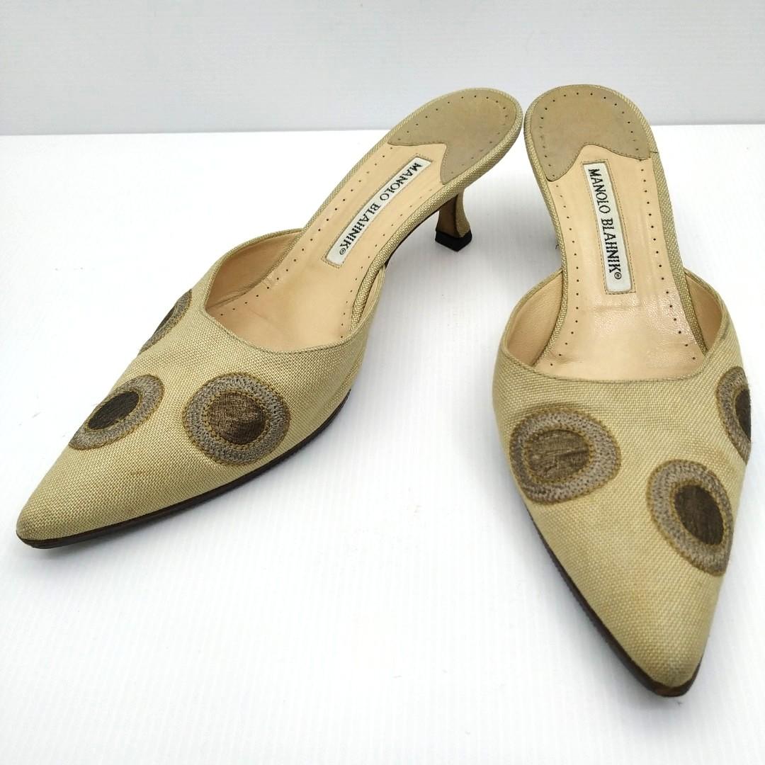 41788cffe0e3d Manolo Blahnik Heels 187005189, Women's Fashion, Shoes, Heels on ...