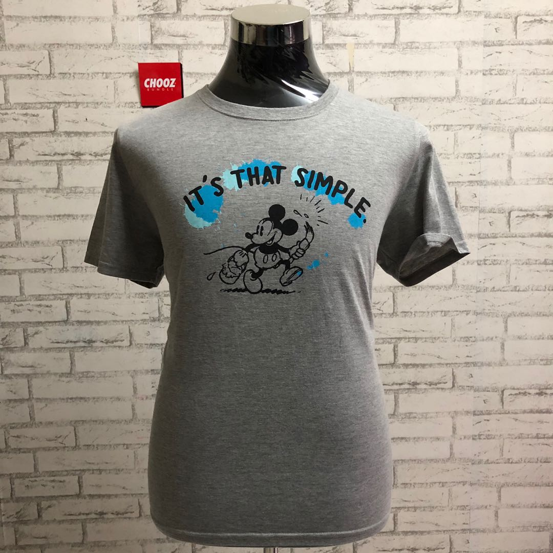 a03c83868 Mickey Mouse • It's That Simple, Men's Fashion, Clothes, Tops on ...