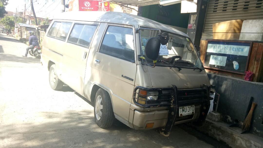 115cf98c22 Mitsubishi L300 versa van