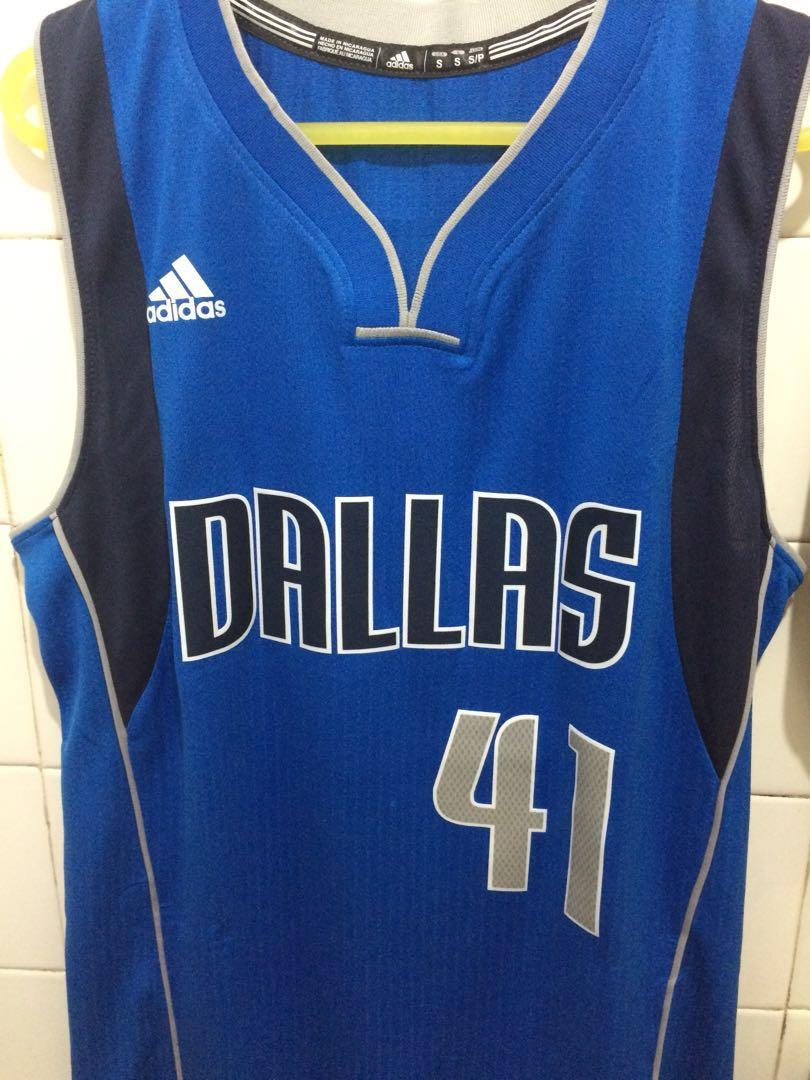 new product 67939 fd721 NBA Dallas Mavs #41 Dirk Nowitzki Swingman Jersey