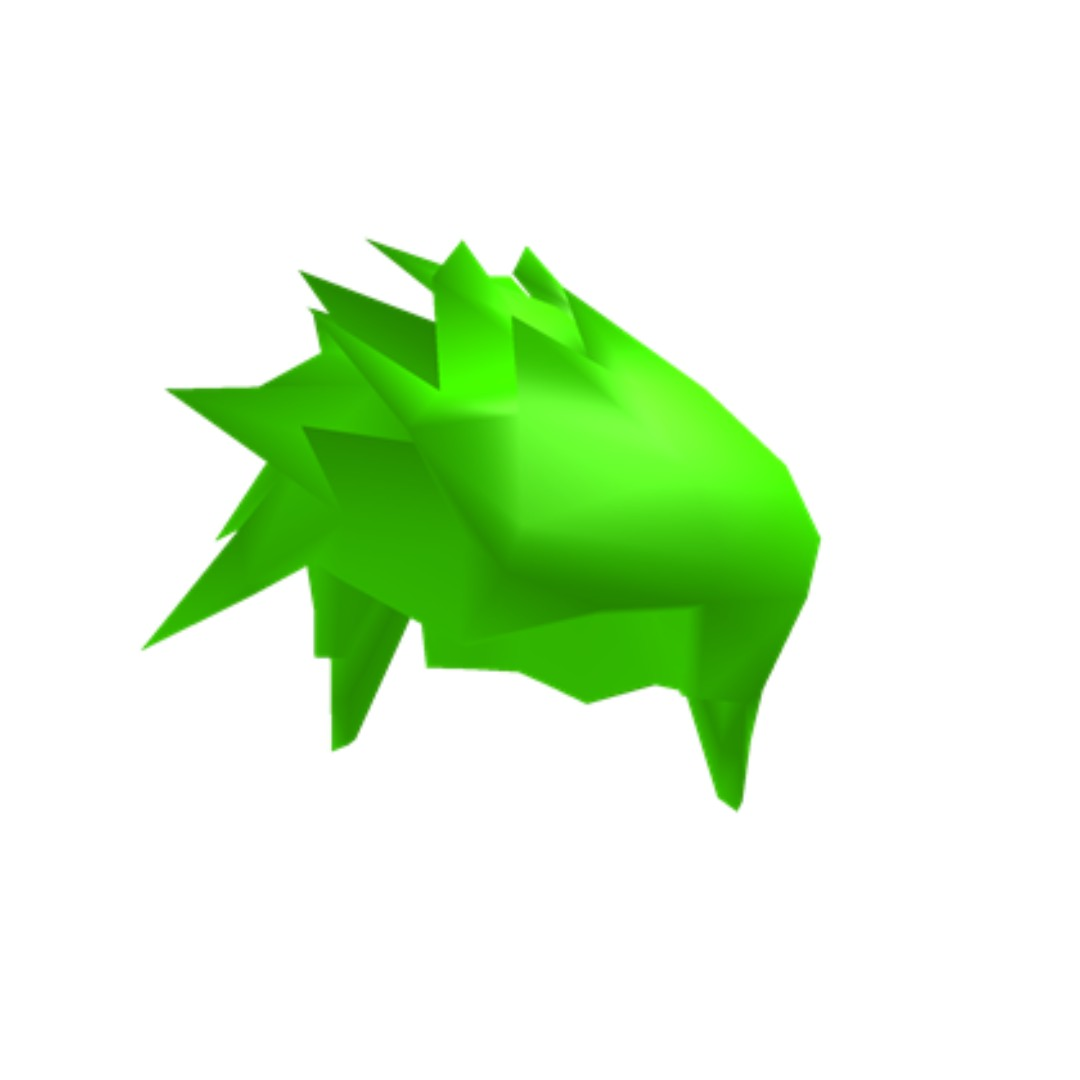 Roblox Neon Beautiful Green Hair Toys Games Video Gaming In Game Products On Carousell