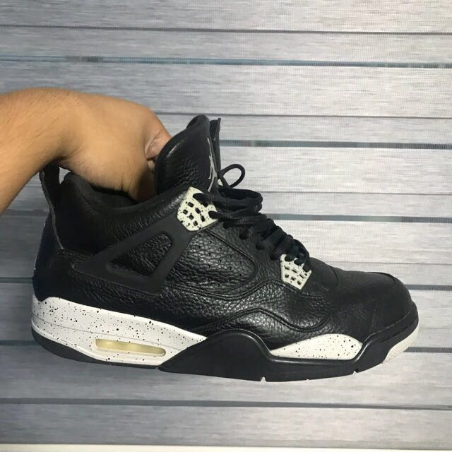c682ec08e0061b Nike Air Jordan 4 Retro Oreo US12