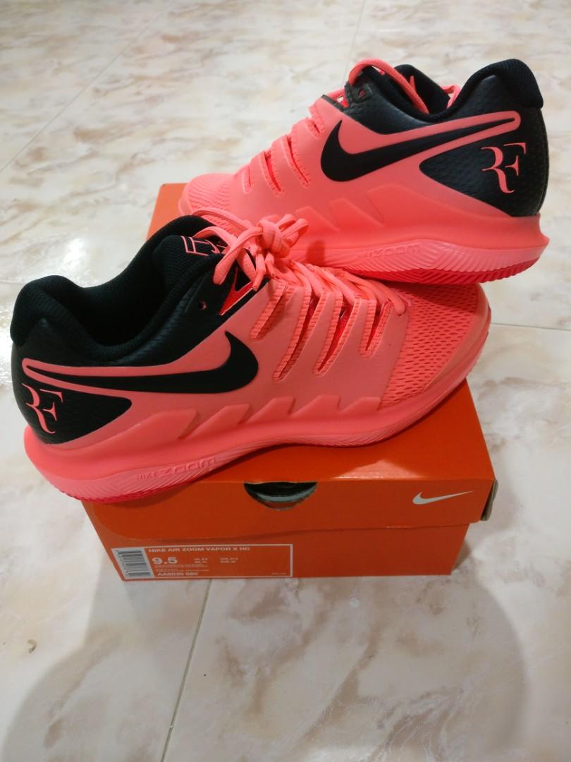 b1e78a15e5 Nike Air Zoom Vapor X HC (Roger Federer Signature), Sports, Sports ...