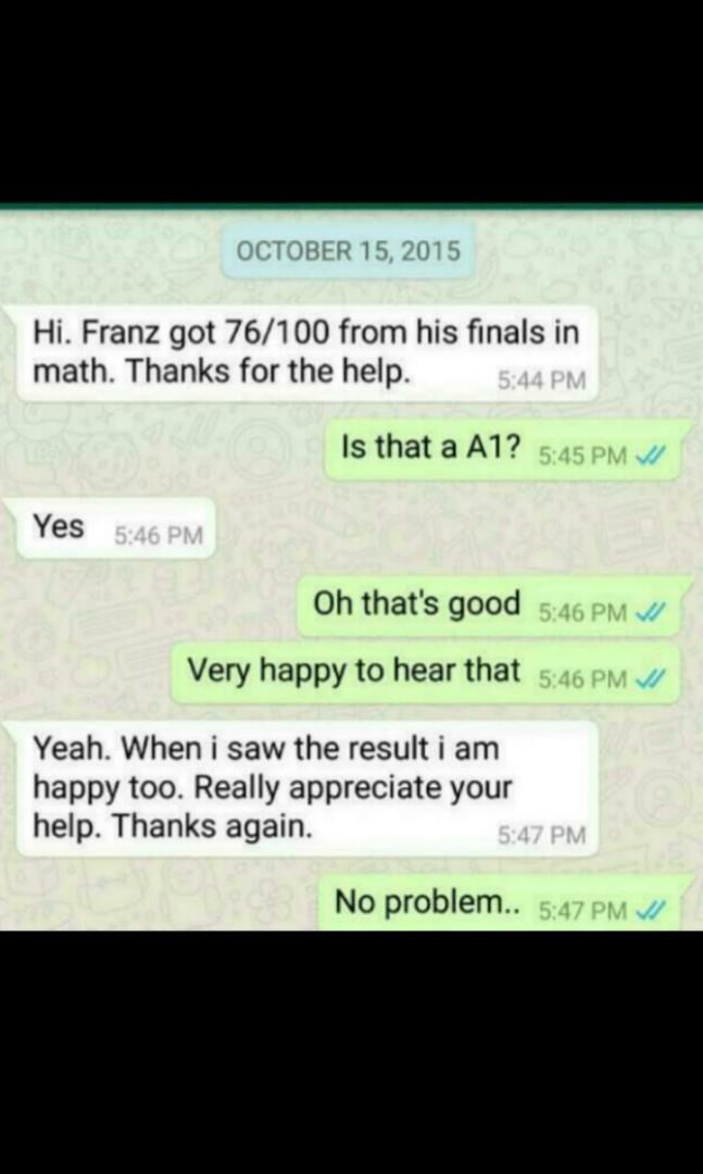 Intensive Mathematics Tuition