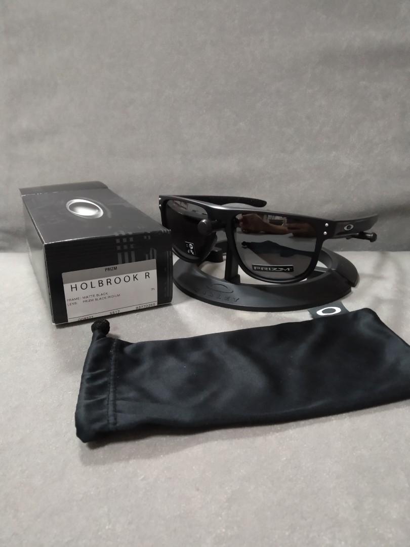 c4c55ee12a Oakley holbrook R (round) matte black prizm black iridium oo9377 ...