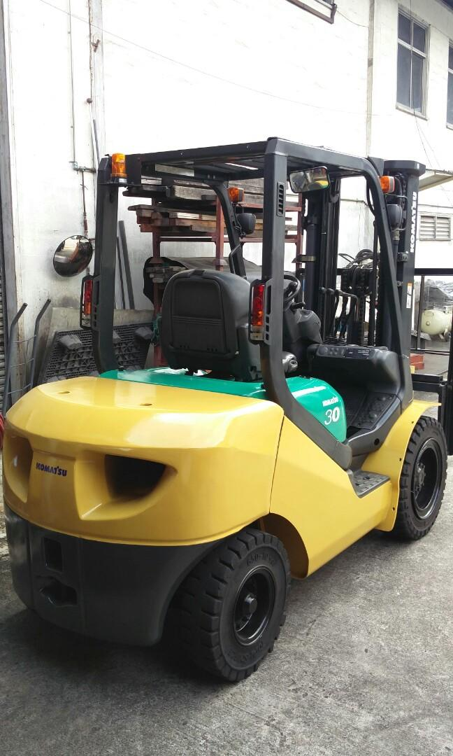 Recon 3ton Komatsu Diesel Forklift, Everything Else on Carousell
