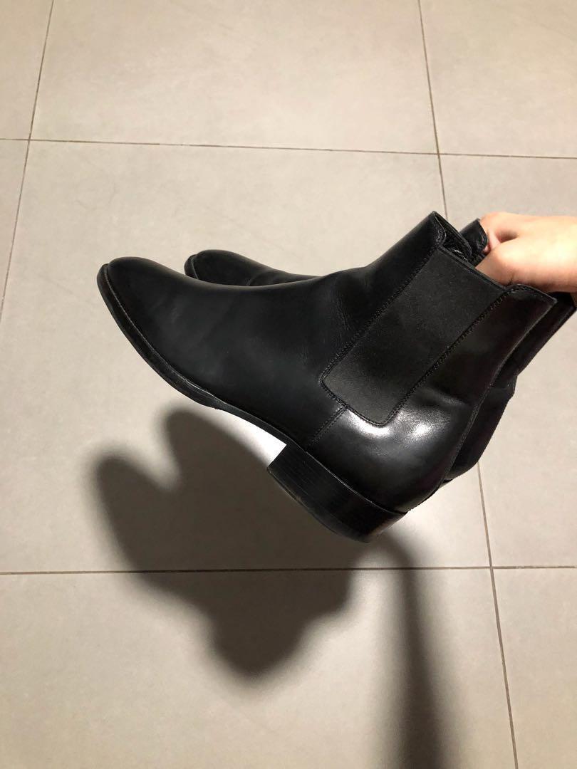08860ddc796 Saint Laurent Paris Wyatt 30 Chelsea Boots EU39 US6, Men's Fashion ...