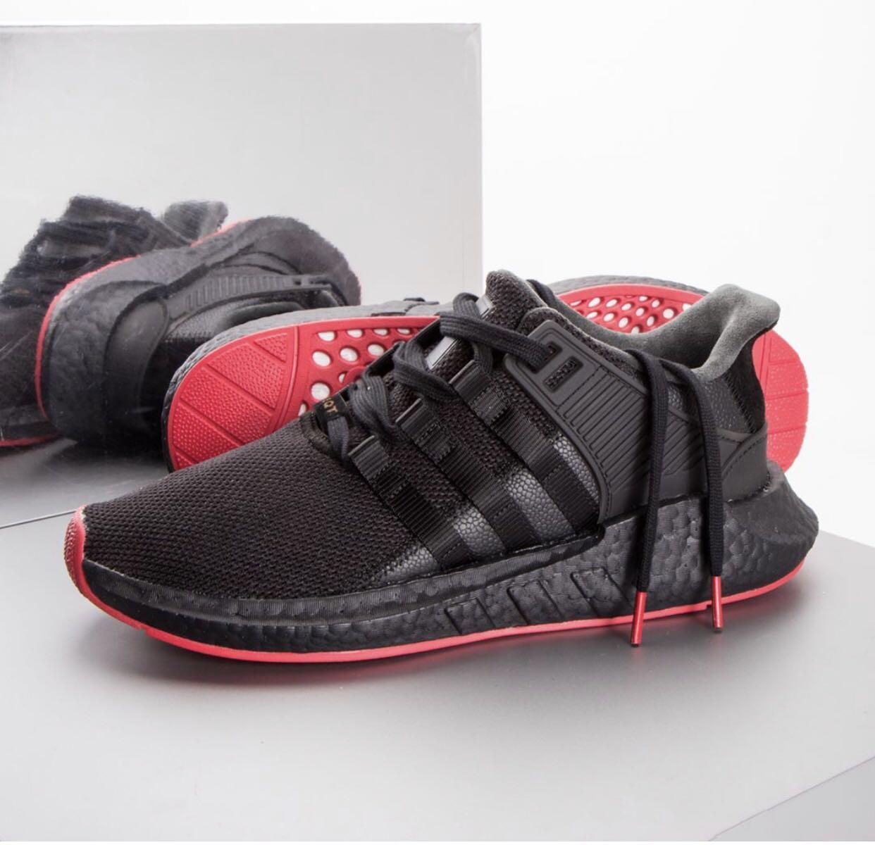 super popular 0187e 5e946 🔥SALE🔥 ADIDAS EQT 93/17 black red bred boost, Men's ...
