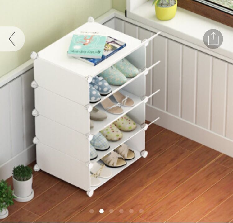 Shoe Box Shoe Rack Plastic Cabinet Furniture Others On Carousell