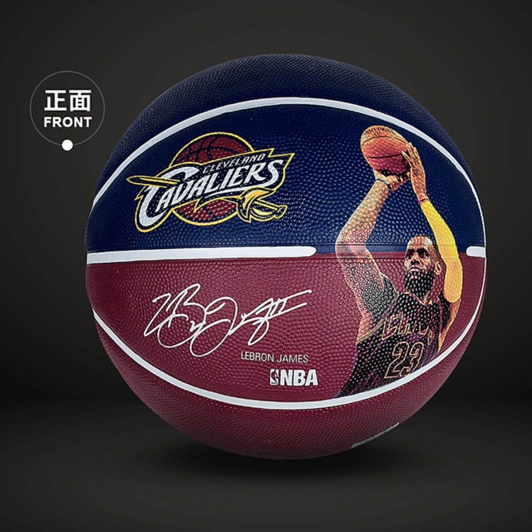 ba9cde4f0dd16 全新 SPALDING NBA 球星簽名系列占士Lebron James Outdoor Rubber ...