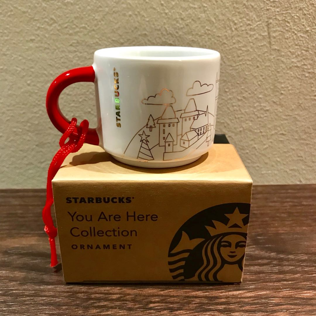 Starbucks Czech Are Here Ornament Christmas 2018 You Edition Republic D9W2EHIY
