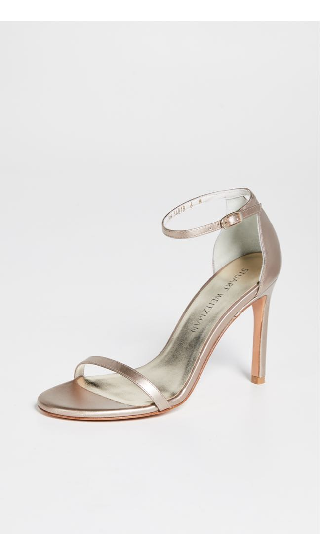 b956d0d362d5 Stuart weitzman nudistsong 90mm sandals supple beige us7.5