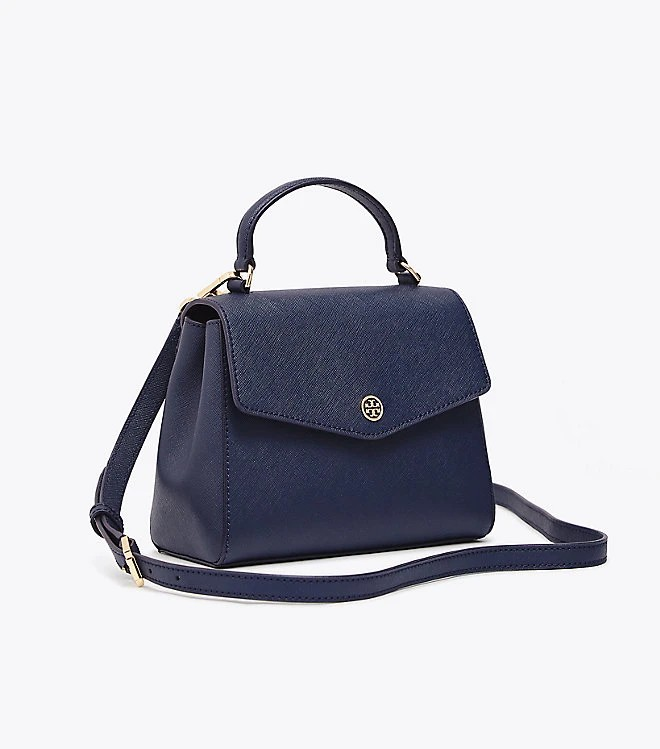 84cb97f7fc9e Tory Burch Robinson Small Top-Handle Satchel