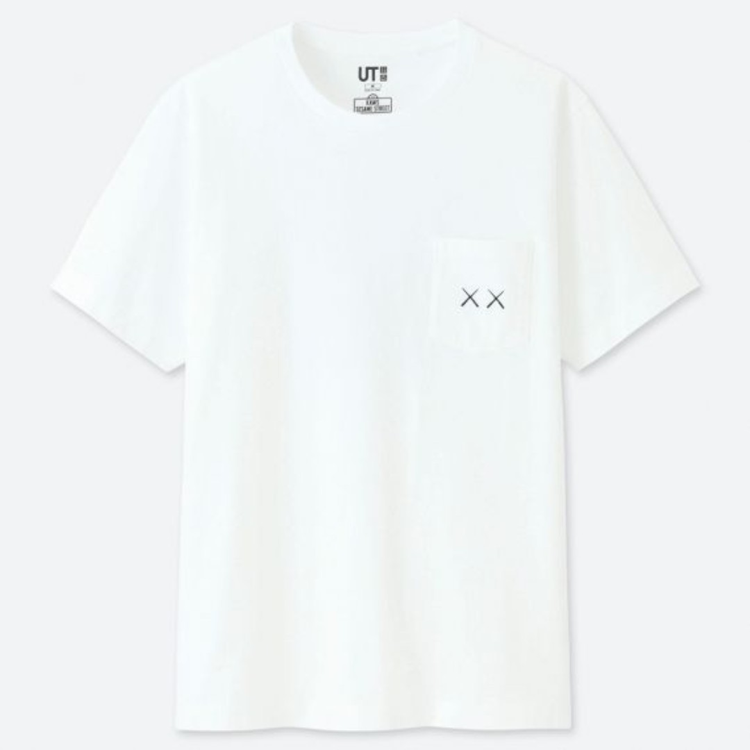 3c5e694e uniqlo - kaws x sesame street graphic tshirt, Men's Fashion, Clothes ...
