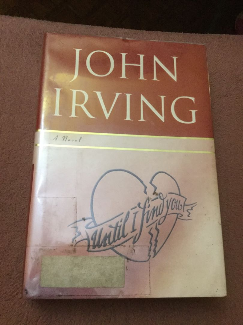 abb3c59d355b Until I find you by John Irving