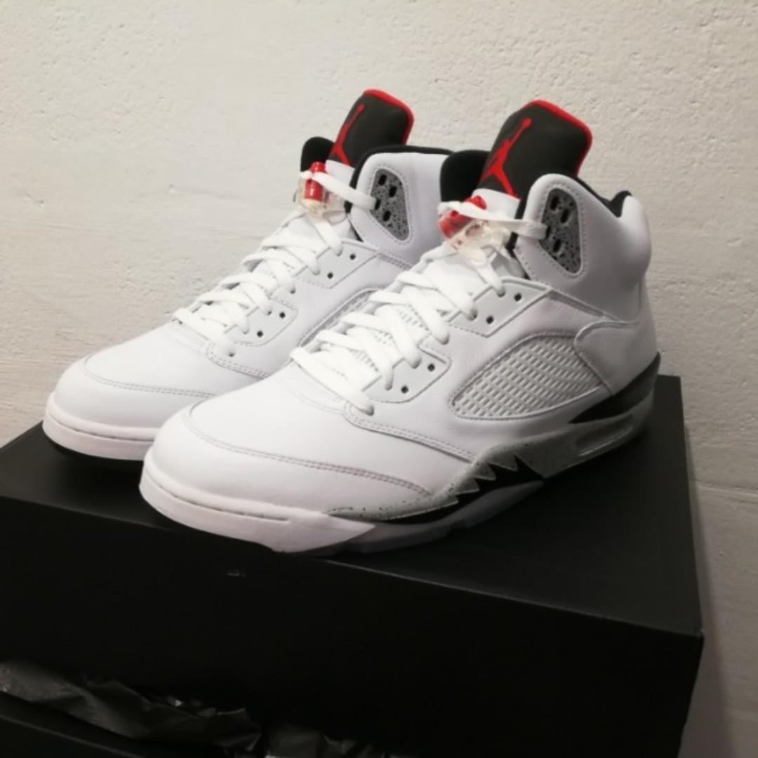 f649cc5256b us13 nike air jordan 5 V basketball shoes, Men's Fashion, Footwear ...