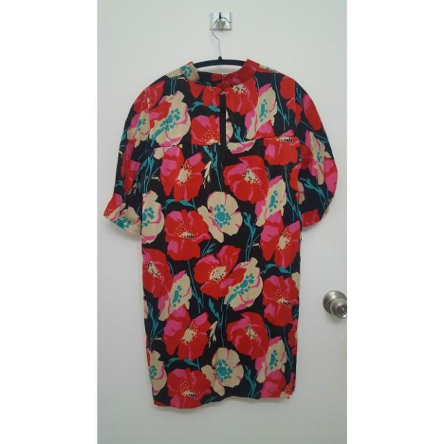Zara Floral Shift Dress