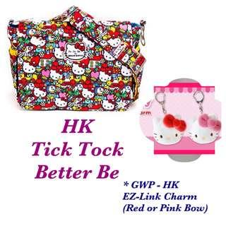 Ju-Ju-Be Hello Kitty Tick Tock Better Be, with GWP