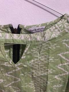 Batik shirt (green)