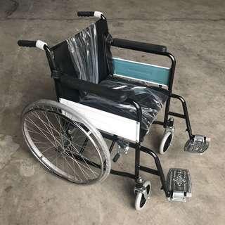 Wheelchair standard silver