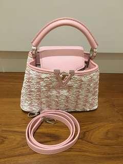 Louis Vuitton mini cappucine special edition