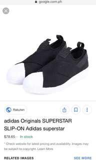 Adidas Superstar Slipons