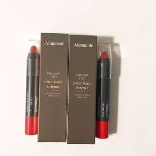韓國Mamonde Creamy Tint唇膏