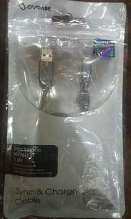 Smartphone USB to Micro USB Charging Cable 1.5 Meter