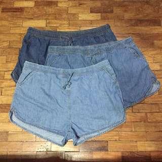 BUNDLE Plus Size H&M Dolphin Shorts sz 42