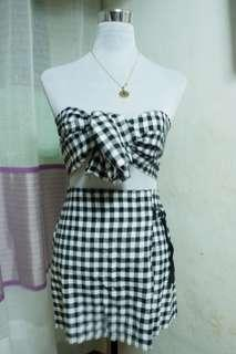 Gingham top only