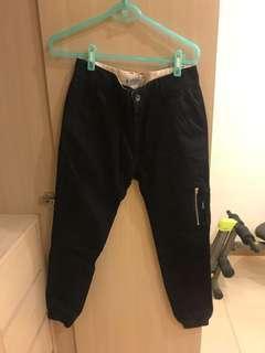 🚚 B-side 縮口工作褲