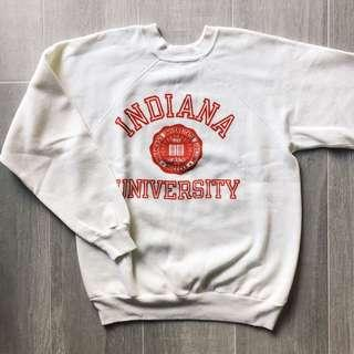 Vintage Champion Indiana University Sweatshirt Made in U.S.A