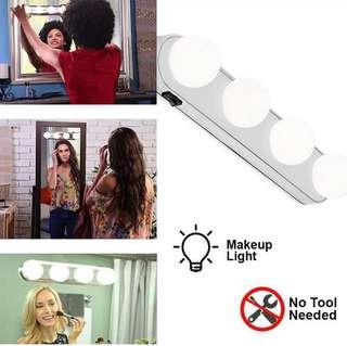 FOUR BULB LED MAKEUP LIGHTS #50xGADGET