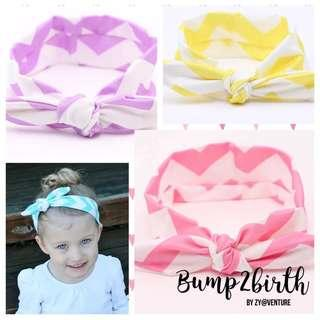 Baby Headbands bright Col