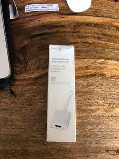 Moshi DisplayPort to HDMI Adapter (4K)