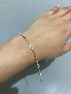 925 Italy Silver Baby Bracelet