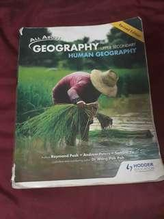 all about geography human geog textbook