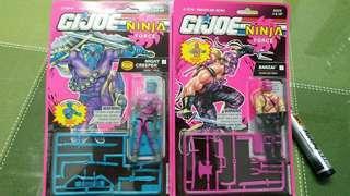 Gijoe ninja force banzai and night creeper