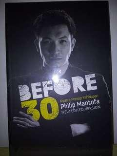 Before 30 by Ps. Philip Mantofa