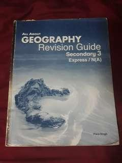 physical geog / sec 3 geog revision guide