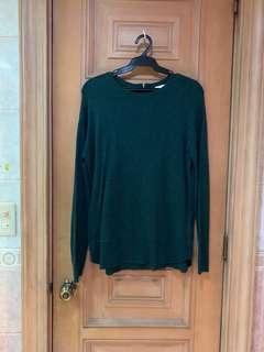 H&M Emerald Sweater