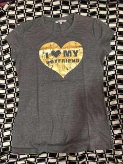 Terranova I Love My Boyfriend shirt